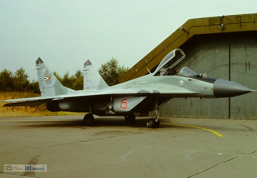 15 rot, MiG-29, Hungarian Air Force