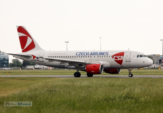 OK-NEN, A319-112, Czech Airlines