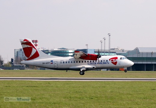OK-KFP, ATR-42-500, Czech Airlines