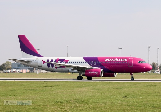 HA-LPR, Airbus A320-232, Wizz Air