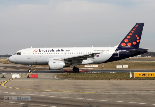 OO-SSE, Airbus A319-111, brussels airlines