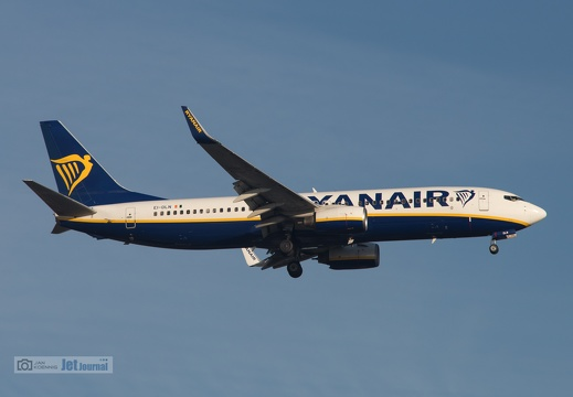 EI-DLN, Boeing B737-8AS, Ryanair