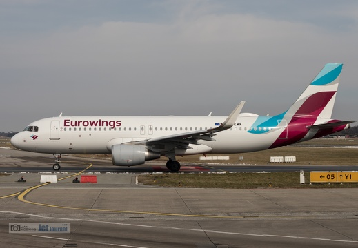 D-AEWK, Airbus A320-214, Eurowings