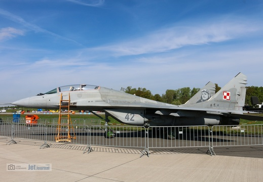 42 grau, MiG-29UB, Polish Air Force