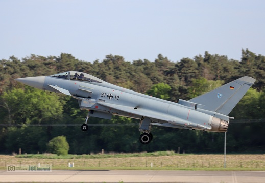 31+17, Eurofighter EF-2000 Typhoon, Deutsche Luftwaffe