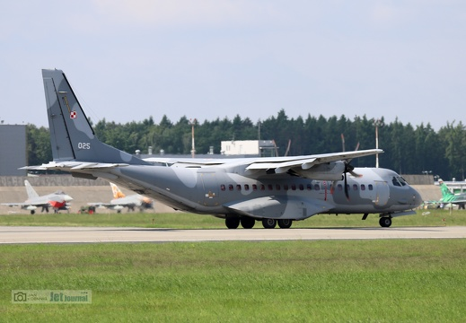 025 weiss, C-295M, Polish Air Force