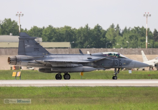 36 grau, JAS-39C Gripen, Hungarian Air Force
