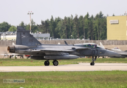 37 grau, JAS-39C Gripen, Hungarian Air Force