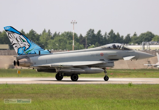 36-40, Eurofighter F-2000A Typhoon, Italian Air Force