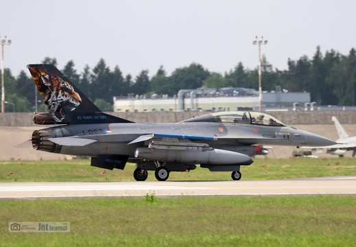 J-882, F-16BM, Royal Netherlands Air Force