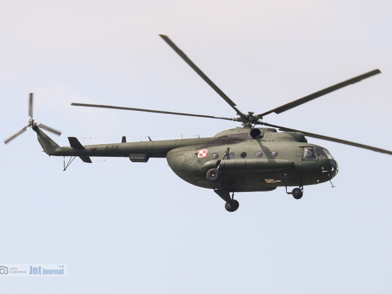 648 schwarz, Mi-8T, Polish Air Force