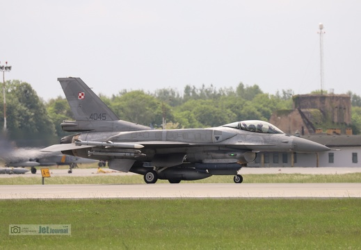 4045, F-16C, Polish Air Force