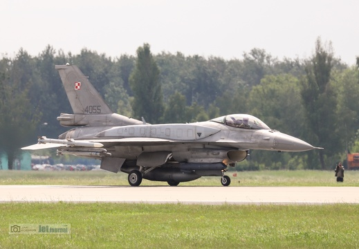 4055, F-16C, Polish Air Force