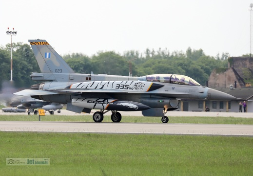 023, F-16D, Greek Air Force