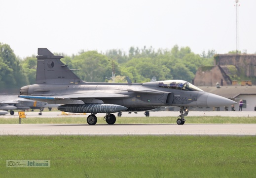 9244, JAS-39C Gripen, Czech Air Force