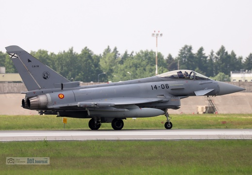 14-06, C16-39, Eurofighter EF-2000 Typhoon, Spanish Air Force