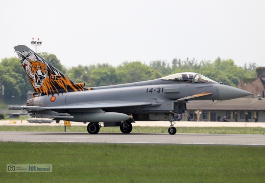 14-31, Eurofighter EF-2000 Typhoon, Spanish Air Force