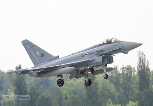 30+53, Eurofighter EF-2000 Typhoon, Deutsche Luftwaffe