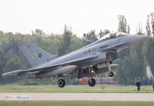 30+72, Eurofighter EF-2000 Typhoon, Deutsche Luftwaffe