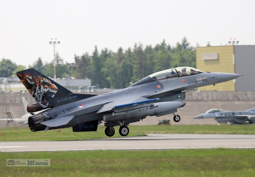 J-882, F-16BM, Royal Netherlands Airforce