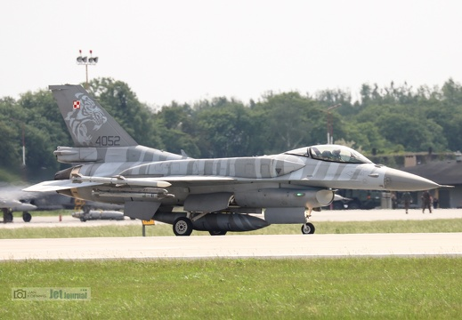 4052, F-16C, Polish Air Force