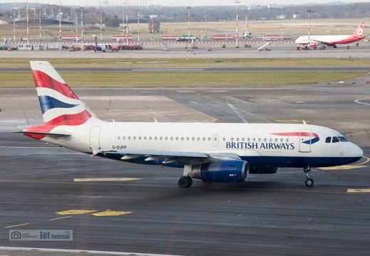 G-EUPP, Airbis A319-131, British Airways