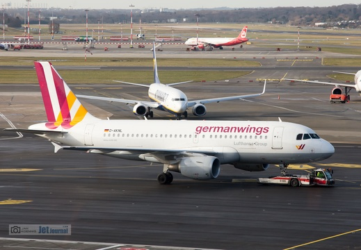 D-AKNL, Airbus A319-112, germanwings