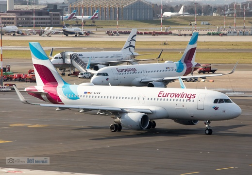D-AEWW, Airbus A320-214, Eurowings