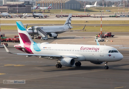 D-AIZV, Airbus A320-214, Eurowings