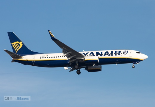 EI-GDT, Boeing 737-8AS, Ryanair