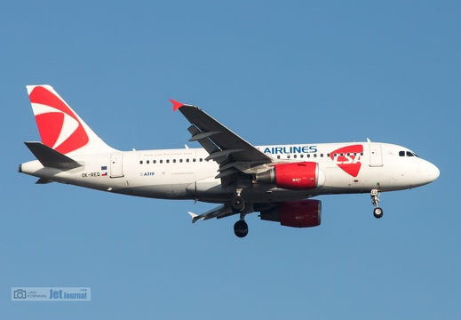 OK-REQ, Airbus A319-112, Czech Airlines
