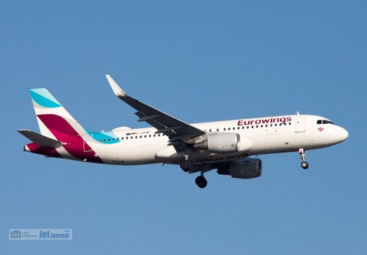 D-AEWI, Airbus A320-214, Eurowings