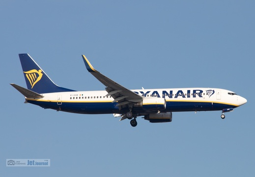 EI-DHB, Boeing 737-8AS, Ryanair