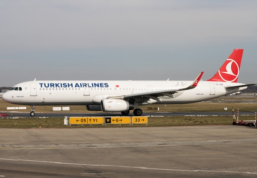 TC-JSR, Airbus A321-231, Turkish Airlines