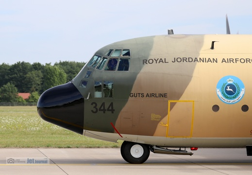 344, C-130H, Royal Jordanian Air Force