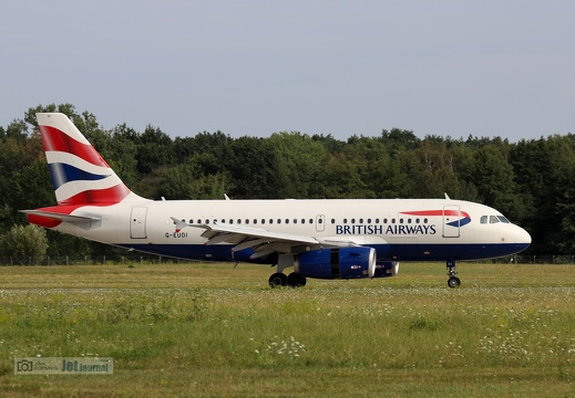 G-EUOI, Airbus A319-131, British Airways