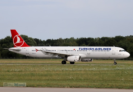 TC-JMJ, Airbus A321-231, Turkish Airlines