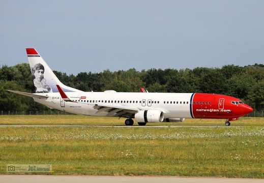 EI-FJA, Boeing 737-8JP, Norwegian International Air