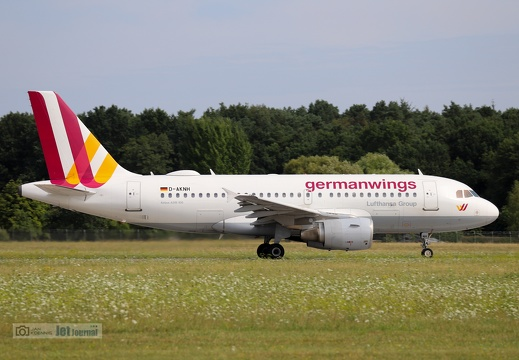 D-AKNH, Airbus A319-112, germanwings