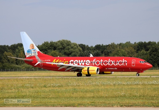 D-ATUH, Boeing 737-8K5, TUIfly