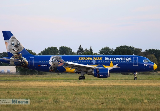 D-ABDQ, Airbus A320-214, Eurowings