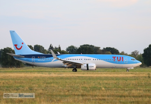 D-ATUJ, Boeing 737-8K5, TUIfly