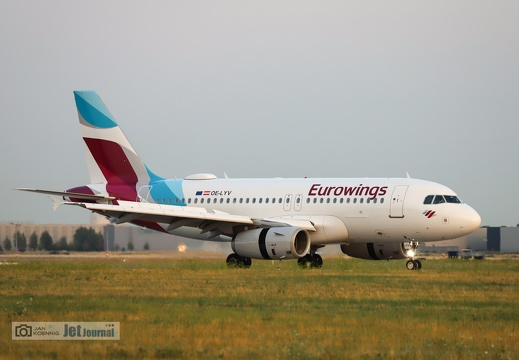 OE-LYV, Airbus A319-132, Eurowings