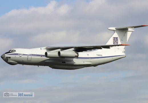 78820, Il-76MD, Ukrainian Air Force