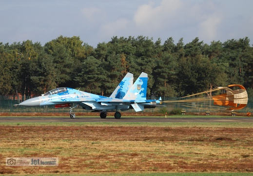 71 blau, Su-27UB, Ukrainian Air Force