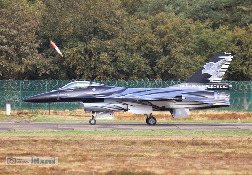 FA-101, F-16AM, Belgian Air Force