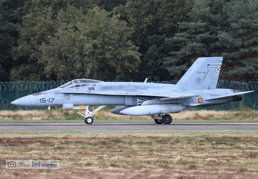 15-17, C15-30, F/A-18C, Spanisch Air Force