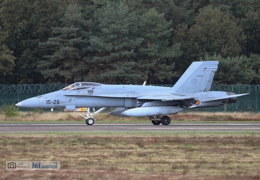15-26, C15-39, F/A-18C, Spanisch Air Force