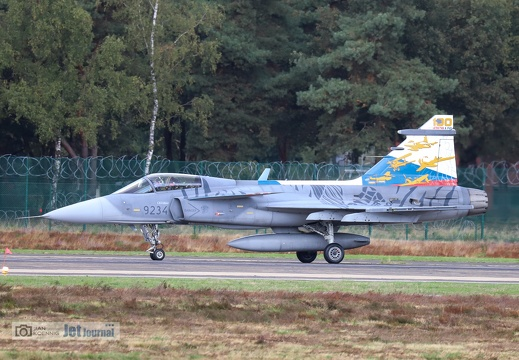 9234, JAS-39C Gripen, Czech Air Force