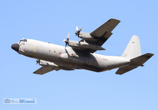 31-01, C-130H, Spanish Air Force